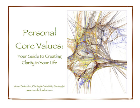 Your Personal Core Values eBook