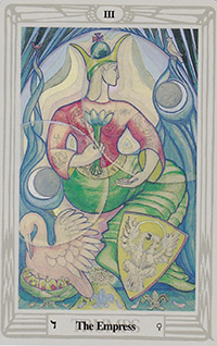 The Empress from the Thoth Deck
