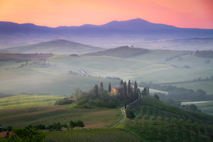 A Tuscany Farmhouse in San Quirico d'Orcia, Italy