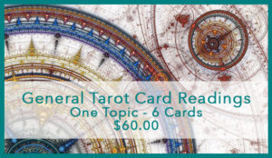General one card tarot reading - background