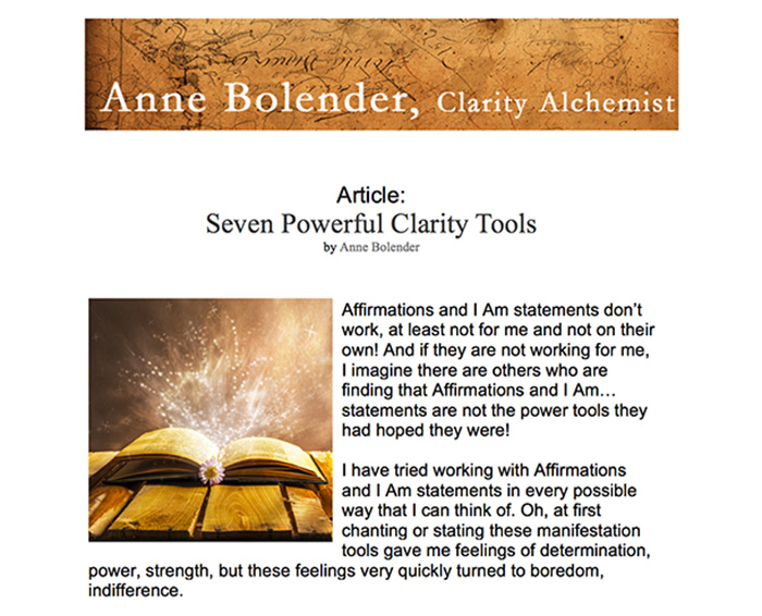 7 Powerful Clarity Tools