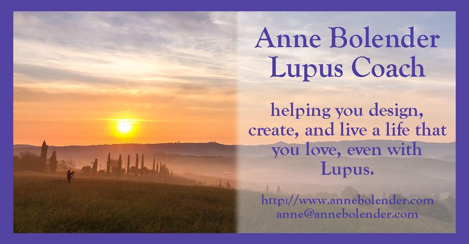 Anne Bolender, Lupus Life Coach