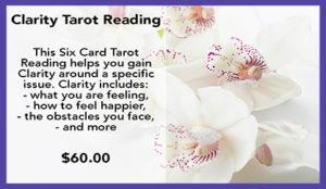 Clarity Tarot Reading $60
