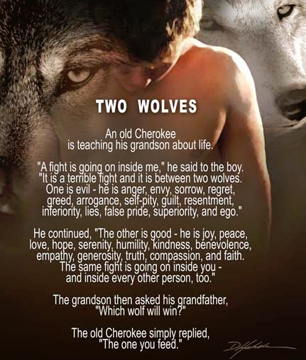 Two Wolves Myth